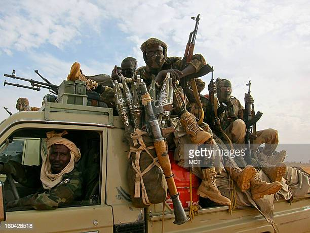 Chadian troops make their way to Mali from Niger