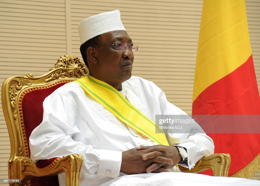 CHAD-POLITICS-INAUGURATION : News Photo