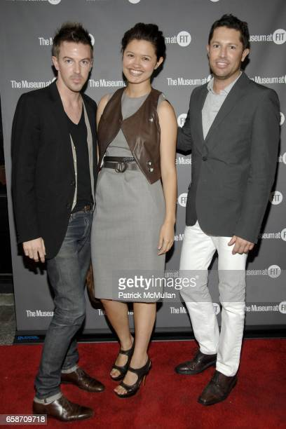 Chadwick Bell Vanessa Webster and David Gruning attend ISABEL TOLEDO Fashion From Inside Out at The Museum at FIT on June 16 2009 in New York City
