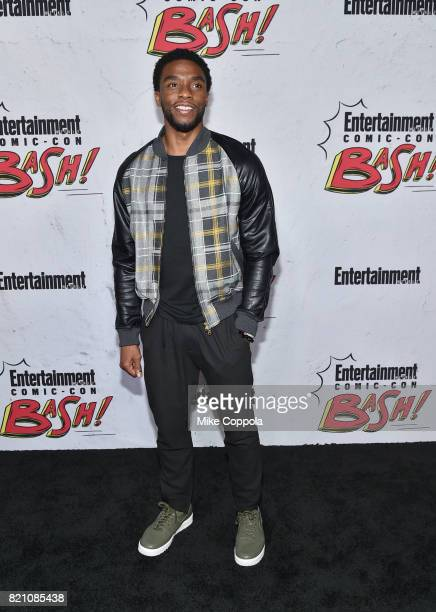 Chadwick Boseman at Entertainment Weekly's annual ComicCon party in celebration of ComicCon 2017 at Float at Hard Rock Hotel San Diego on July 22...