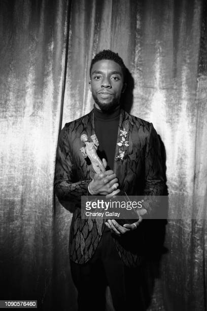 Chadwick Boseman attends the 25th Annual Screen Actors Guild Awards at The Shrine Auditorium on January 27, 2019 in Los Angeles, California. 480620