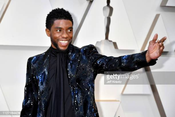 Chadwick Boseman attends the 91st Annual Academy Awards at Hollywood and Highland on February 24, 2019 in Hollywood, California.
