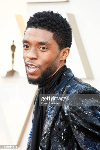 Chadwick Boseman attends the 91st Annual Academy Awards at Hollywood and Highland on February 24 2019 in Hollywood California