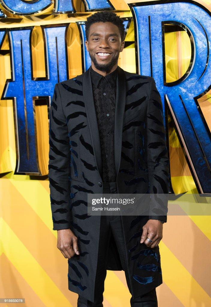 'Black Panther' European Premiere - Red Carpet Arrivals : News Photo