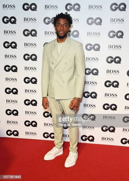 Chadwick Boseman attends the GQ Men of the Year Awards 2018 in association with HUGO BOSS at Tate Modern on September 5, 2018 in London, England.