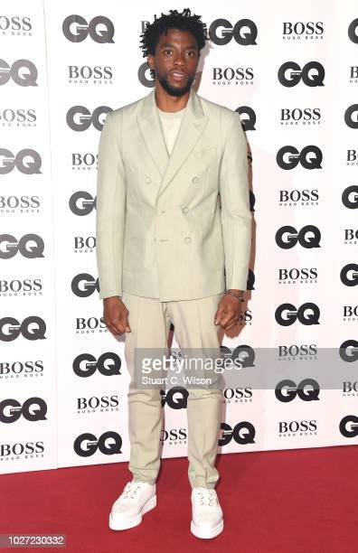 Chadwick Boseman attends the GQ Men of the Year awards at the Tate Modern on September 5 2018 in London England