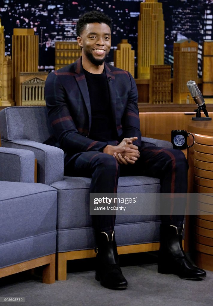 "Chadwick Boseman Visits ""The Tonight Show Starring Jimmy Fallon"""