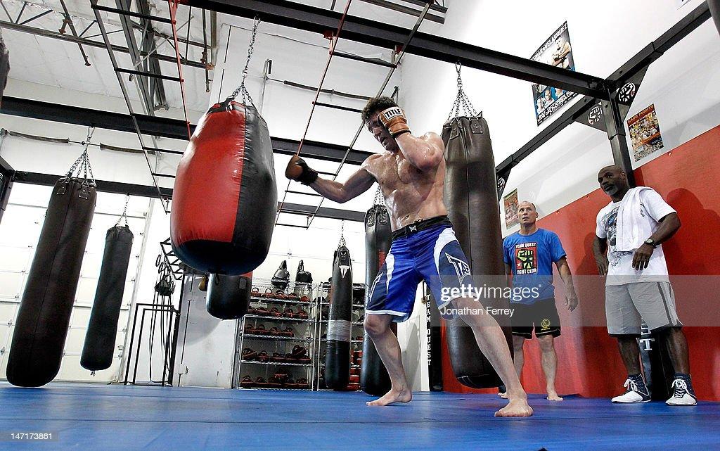 UFC 148 Preview: Chael Sonnen Workout : News Photo