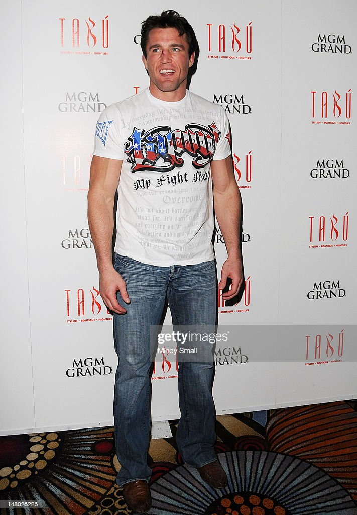 World-Class Fighter Chael Sonnen Hosts A Party at Tabu : News Photo