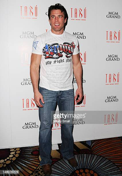 Chael Sonnen hosts a post fight party at Tabu Ultra Lounge at MGM Grand on July 7 2012 in Las Vegas Nevada