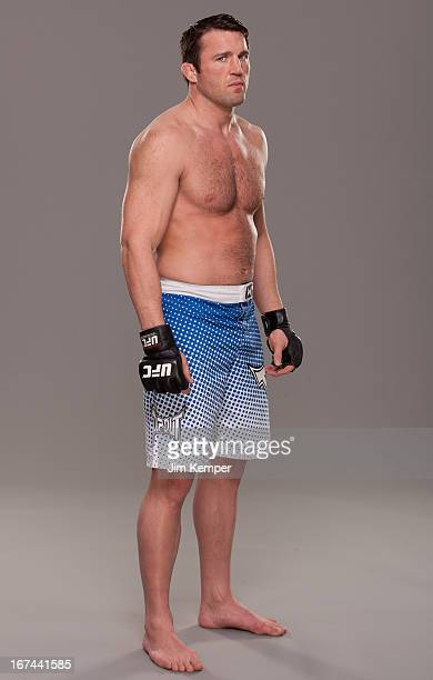 Chael Sonnen poses for a portrait on April 24 2013 in Jersey City New Jersey