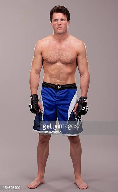 Chael Sonnen poses for a portrait on July 4 2012 in Las Vegas Nevada