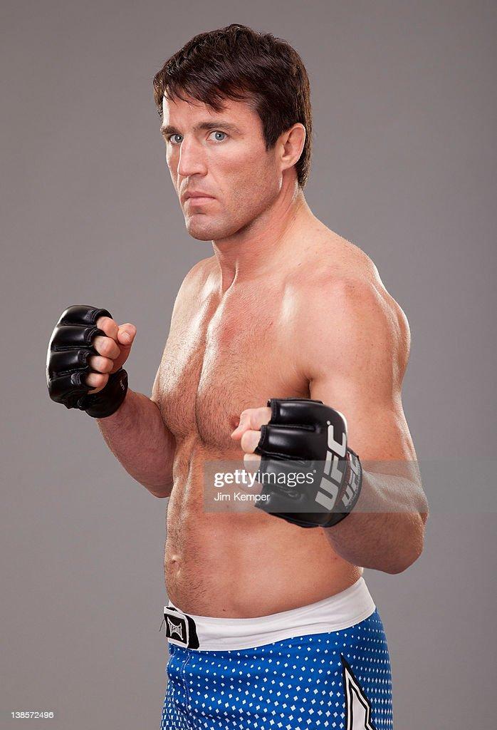 UFC Fighter Portraits : Nachrichtenfoto