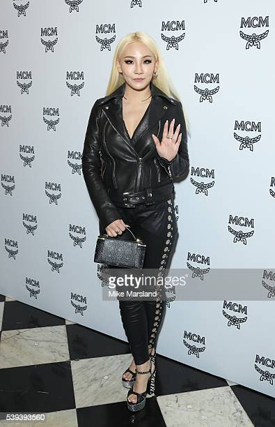 Chaelin Lee aka CL attends the MCM X Christopher Raeburn show during The London Collections Men SS17 at on June 11, 2016 in London, England.