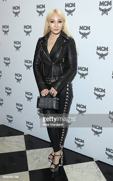 Chaelin Lee aka CL attends the MCM X Christopher Raeburn show during The London Collections Men SS17 at on June 11 2016 in London England