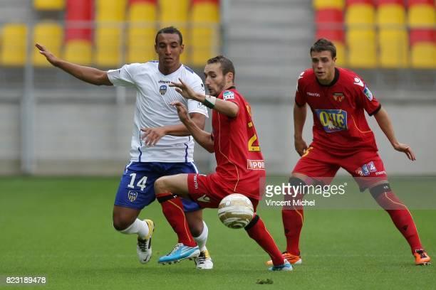 Chafik NAJIH / Idir OUALI Le Mans / Arles Avignon Coupe de la Ligue 2011/2012