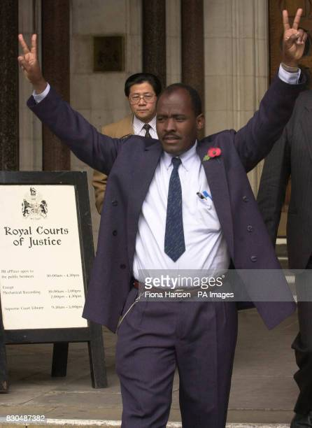 Chagos islander Louis Bancoult leaves the High Court London following his victorious legal battle with the British Government The islanders were...