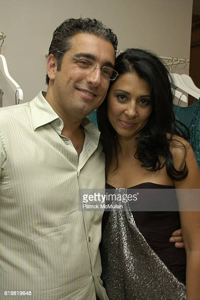 Chahe Agopian and Aida Khoursheed attend Grand Opening of Jay Ahr at 801 Madison Ave on October 15 2008 in New York City