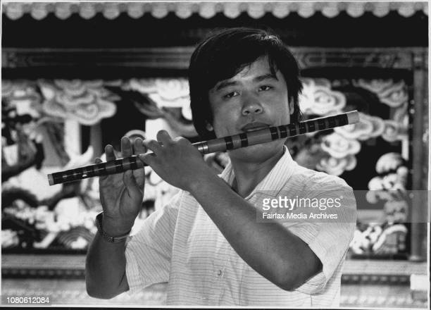 Chai ChangNing playing his Chinese bamboo flute***** far away Apart from daytoday living expenses he boards with a Cantonese family of restaurateurs...