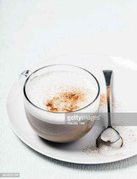 chai tea latte - chai stock photos and pictures