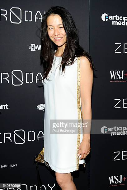 Chai Vasarhely attends WSJ Presents the New York Premiere of ZERO DAYS at New York Institute of Technology on June 23 2016 in New York City
