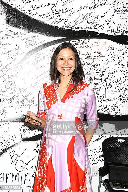 "Chai Vasarhelyi attends AOL Build Presents: ""MERU""at AOL Studios In New York on August 13, 2015 in New York City."