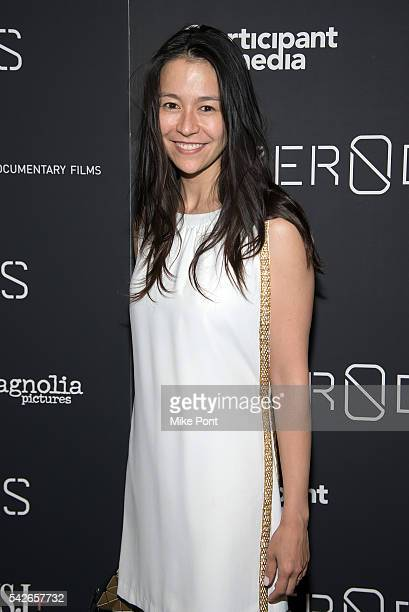 Chai Vasarhelyi attends the Zero Days New York Premiere at New York Institute of Technology on June 23 2016 in New York City