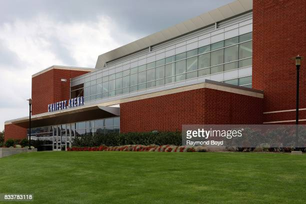 Chaifetz Arena home of the St Louis University Billikens men's and women's basketball teams in St Louis Missouri on August 11 2017