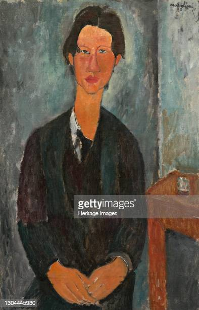 Chaim Soutine, 1917. Artist Amadeo Modigliani.