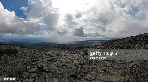 chain of craters road, hawai'i volcanoes national park, big island, hawaii, usa - hawaii inselgruppe stock-fotos und bilder