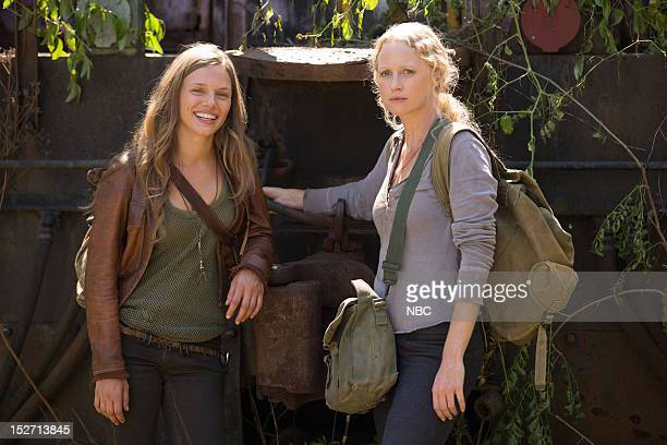REVOLUTION 'Chained Heat' Episode 102 Pictured Tracy Spiridakos as Charlie Matheson Anna Lise Phillips as Maggie