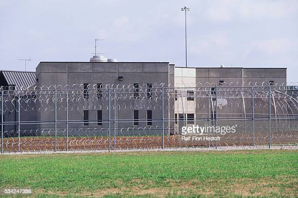 A chainlink fence and razor wire surround the Lois M DeBerry Special Needs Facility in Nashville The special needs prison facility houses inmates...