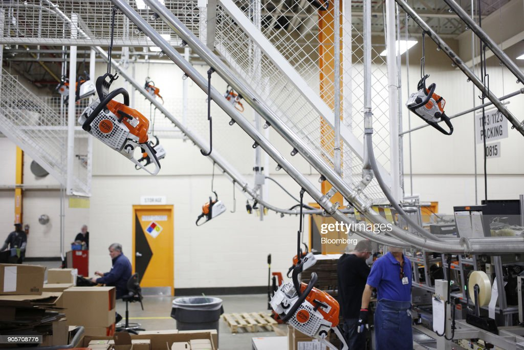 Inside The Stihl Inc. Power Tool Manufacturing Facility Ahead Of Industrial Production Figures