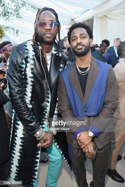 Chainz and Big Sean attend 2019 Roc Nation THE BRUNCH on February 9, 2019 in Los Angeles, California.
