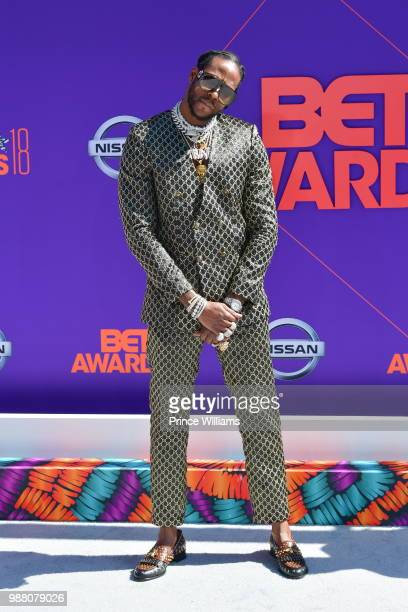 Chainz arrives to the 2018 BET Awards held at Microsoft Theater on June 24 2018 in Los Angeles California