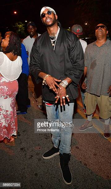 Chainz attends 'Daniel Son Necklace Don Album release party at Compound on August 14 2016 in Atlanta Georgia