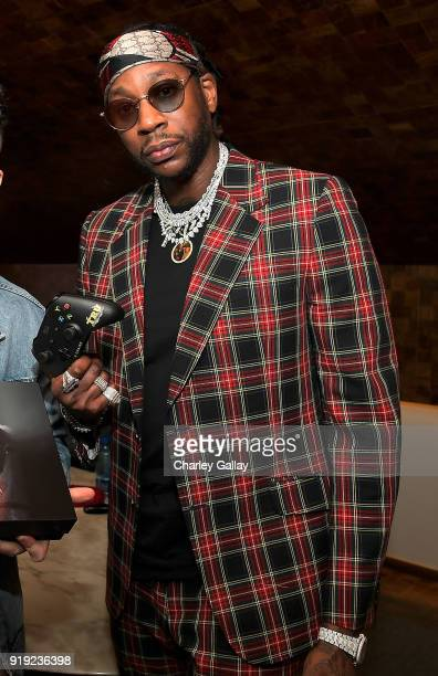 Chainz attends Def Jam Celebrates NBA All Star Weekend at Milk Studios in Hollywood With Performances by 2 Chainz Fabolous Jadakiss Presented by...