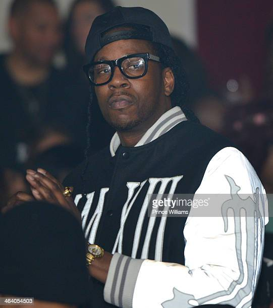 Chainz attends Dwyane Wade's Birthday Celebration at Velvet Room on January 19 2014 in Chamblee Georgia