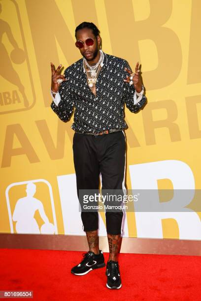 Chainz attends the 2017 NBA Awards at Basketball City - Pier 36 - South Street on June 26, 2017 in New York City.