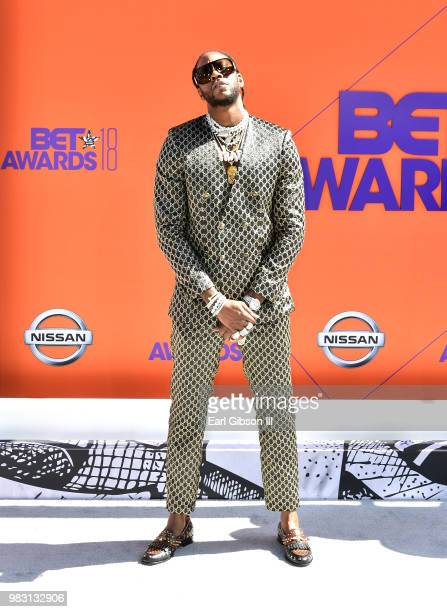 Chainz attends the 2018 BET Awards at Microsoft Theater on June 24 2018 in Los Angeles California