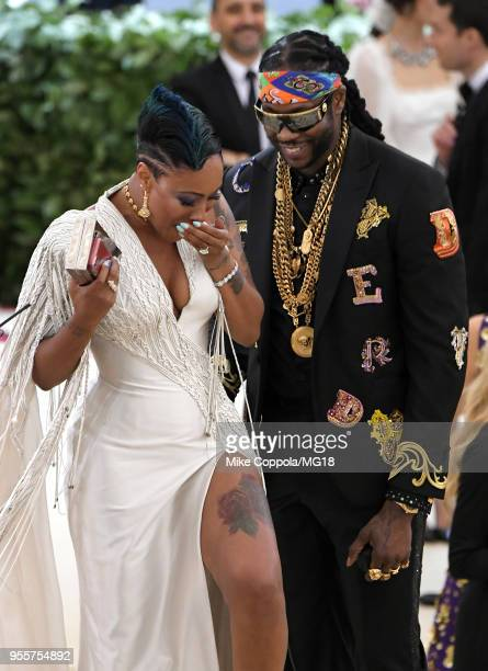 Chainz attends the Heavenly Bodies: Fashion & The Catholic Imagination Costume Institute Gala at The Metropolitan Museum of Art on May 7, 2018 in New...