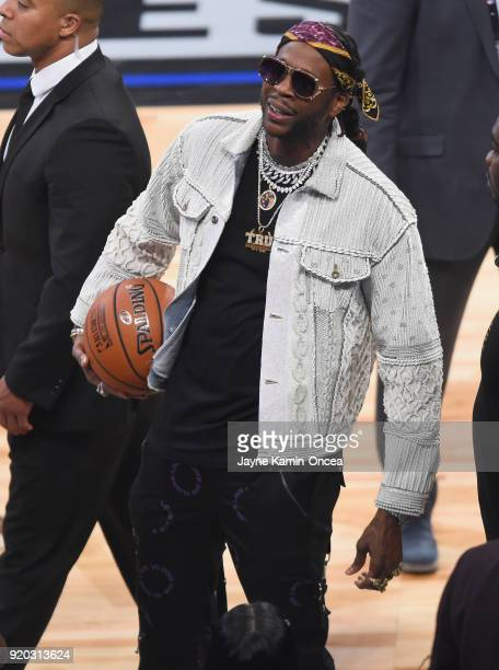 Chainz attends the NBA AllStar Game 2018 at Staples Center on February 18 2018 in Los Angeles California