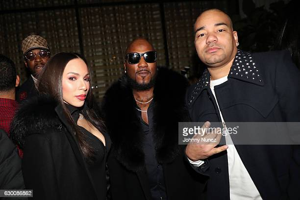 2 Chainz Gia Casey Young Jeezy and DJ Envy attend the 2016 Def Jam Holiday Party at Spring Place on December 15 2016 in New York City