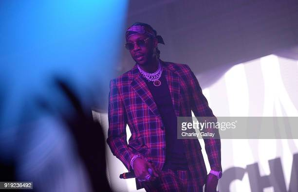 Chainz performs at Def Jam Celebrates NBA All Star Weekend at Milk Studios in Hollywood With Performances by 2 Chainz Fabolous Jadakiss Presented by...