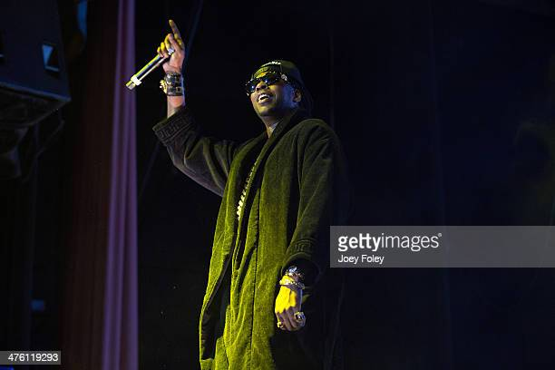 Chainz performs during the 2 Good To Be T.R.U. Tour in The Egyptian Room at Old National Centre on March 1, 2014 in Indianapolis, Indiana.
