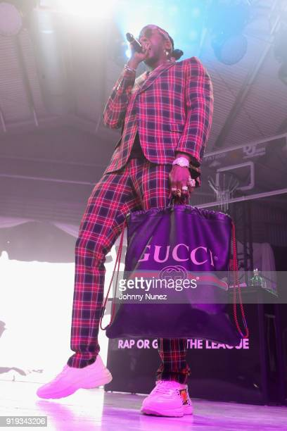 Chainz performs onstage at the 2 Chainz Hosts NBA AllStar Def Jam End Party at Milk Studios on February 16 2018 in Los Angeles California