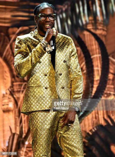 Chainz performs onstage at the 2018 BET Awards at Microsoft Theater on June 24 2018 in Los Angeles California