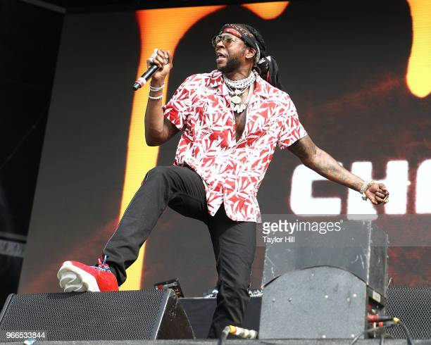 Chainz performs onstage during Day 2 of 2018 Governors Ball Music Festival at Randall's Island on June 2 2018 in New York City