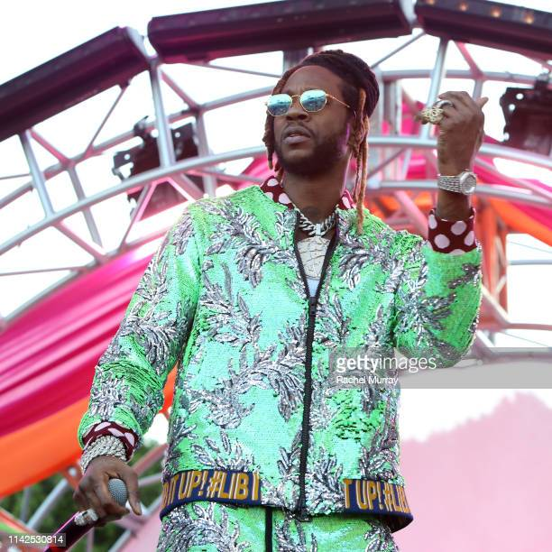 Chainz performs onstage during #REVOLVEfestival Day 1 at Merv Griffin Estate on April 13 2019 in La Quinta California
