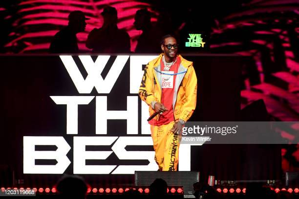 Chainz performs onstage during the EA Sports Bowl at Bud Light Super Bowl Music Fest on January 30 2020 in Miami Florida